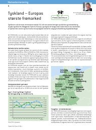 Tyskland – Europas største frømarked - DLF-TRIFOLIUM Denmark
