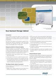 Esco Garment Storage Cabinet