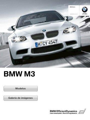 BMW M3 Sedán, Coupé y Convertible