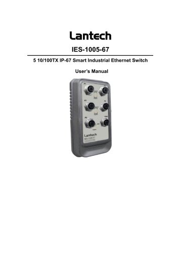 Industrial Smart Ethernet Switch