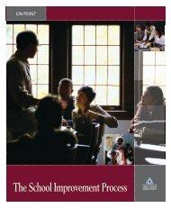 The School Improvement Process - NIUSI Leadscape