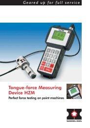 Tongue-force Measuring Device HZM - Hanning & Kahl