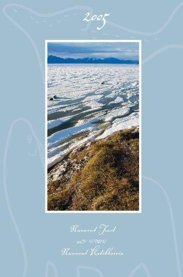 2005 Nunavut Trust Annual Report (english)