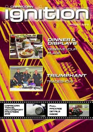 triumphant triumphant dinner & displays dinner ... - Capricorn Society