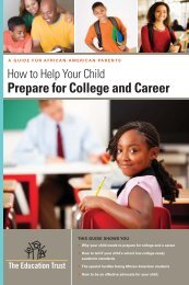How to Help Your Child Prepare for College and Career