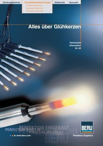 Alles über Glühkerzen - Kfz-Betrieb