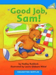 Lesson 22:Good Job, Sam!