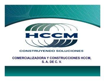 comercializadora y construcciones hccm, sa de cv - Logismarket, el ...