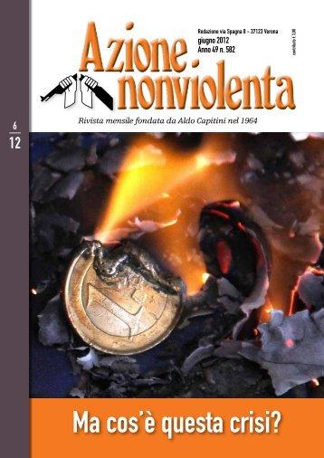Giugno 2012 - Movimento Nonviolento