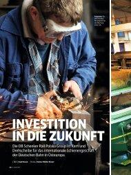 InvestItIon In dIe Zukunft - Axel Novak