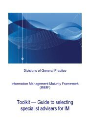 Toolkit –– Guide to selecting specialist advisers for IM