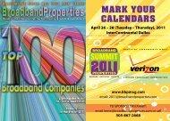 Top 100 - Broadband Properties