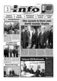 Viktor Juscsenko és Sólyom László államfők ... - Kárpátinfo.net