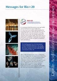 Ocean acidification - Acting on Evidence - epoca