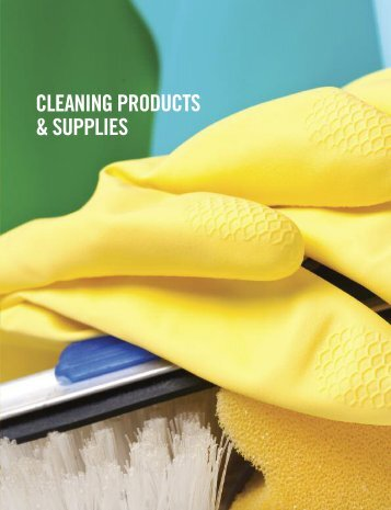 CLEANING PRODUCTS & SUPPLIES - MDA