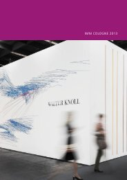 IMM COLOGNE 2013 - Walter Knoll