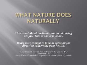 This is not about medicine, nor about curing people. This is about ...