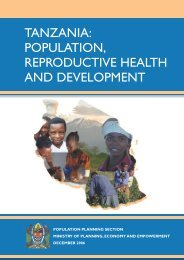 Tanzania - Health Policy Initiative