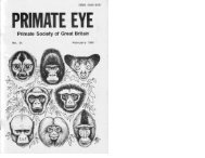 1988 Vol 34.pdf - Primate Society of Great Britain