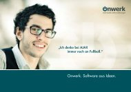 Onwerk. Software aus Ideen. - Onwerk GmbH