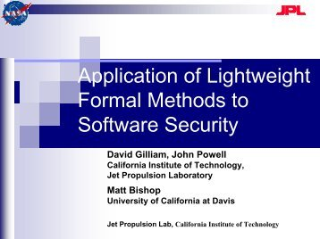 Reducing Software Security Risk Through an Integrated Approach ...