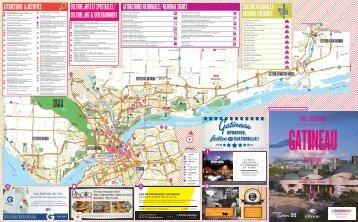 Carte touristique - Ville de Gatineau
