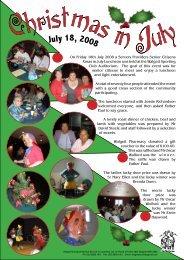Christmas in July - WAMS