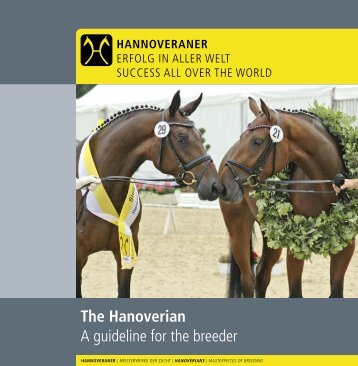 A Guideline for the Breeder - Canadian Hanoverian Society