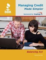Download the PDF - Better Business Bureau