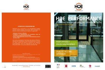 HQE PErformancE - Qualité Logement