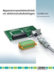 Catalogus COMBICON 2011 - Phoenix Contact