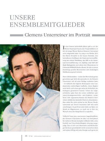 UNSERE ENSEMBLEMITGLIEDER - Unterreiner, Clemens