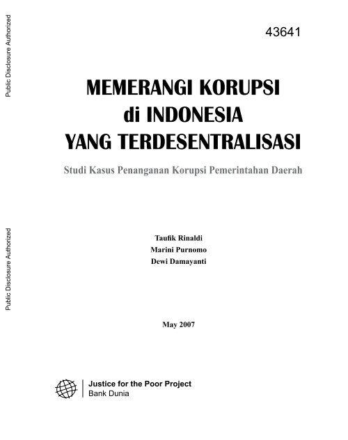 World Bank Document Psflibraryorg