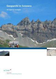 5. I geoparchi in Svizzera - Platform Geosciences - SCNAT
