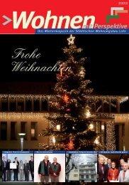 Frohe Weihnachten - Städtische Wohnungsbau GmbH Lahr