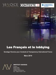 les-francais-et-le-lobbying-sondage-viavoice-pour-contexte-et-transparency-international-france-mars-2014