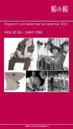 Was ist los - beim K&K - Kunst und Kultur in Neuried eV