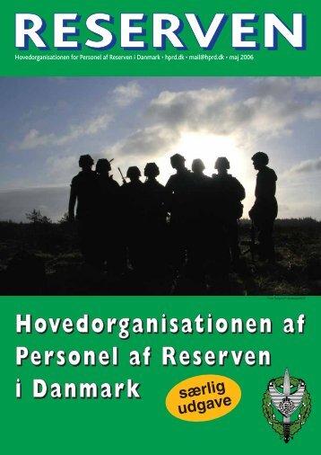 Reserven - Hovedorganisationen for Personel af Reserven i Danmark