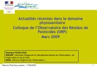 colloque ORP-DRIAAF - DRIAAF Ile-de-France