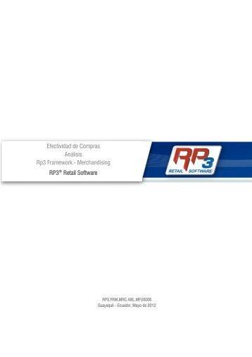 Efectividad de Compras - RP3 Retail Software