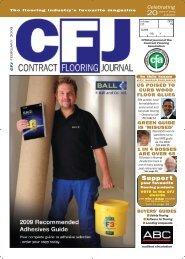 CFJ Feb 09 (Cover):CFJ Dec (Cover) - Contract Flooring Journal