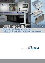 ORBIT gépcsalád - Tablazat.hu