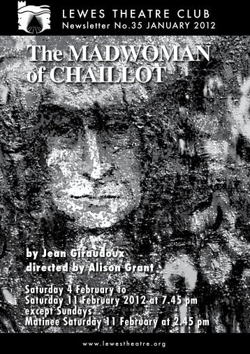 January 2012: The Madwoman of Chaillot - Lewes Little Theatre