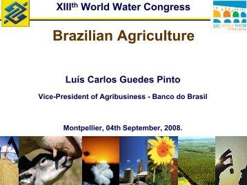 Brazilian Agriculture - IWRA