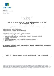 """""""FIDO PROTETTO"""" (Tariffa CP12) CONTRATTO DI ... - Aviva"""