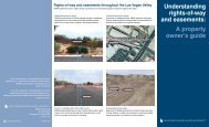 Understanding Rights of Way and Easements - Southern Nevada ...