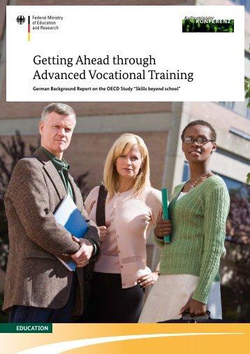 Getting Ahead through Advanced Vocational Training