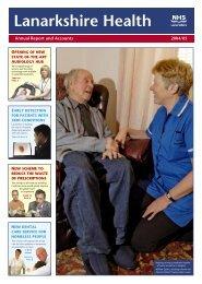 Annual Report 2004 - NHS Lanarkshire