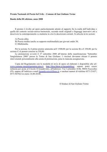 Premio Nazional Bando 2008.pdf - Poiein