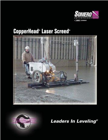 CopperHead® Product Family - Somero Enterprises